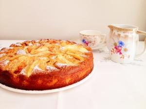 Receta pastel de manzana