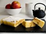 recepta pastís de poma al microones