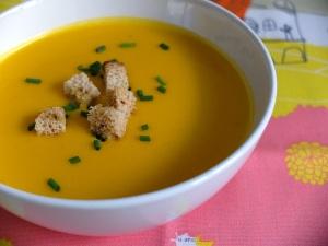 receta crema de zanahoria y naranja