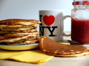 receta pancakes