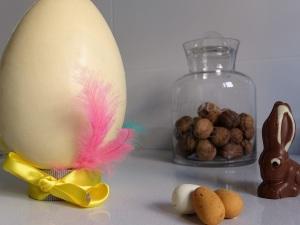 preparar huevo de pascua