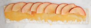 receta rosas de manzana