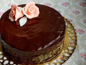 receta tarta Sacher