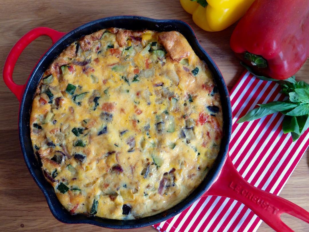 Frittata de verduras al horno pixiecocina - Verduras rellenas al horno ...
